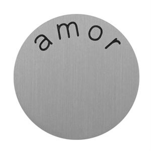 Picture of 'Amor' Medium Silver Coin
